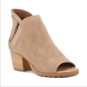 Walking Cradles Shoes - Walking Cradles  Neece Open Toe Bootie